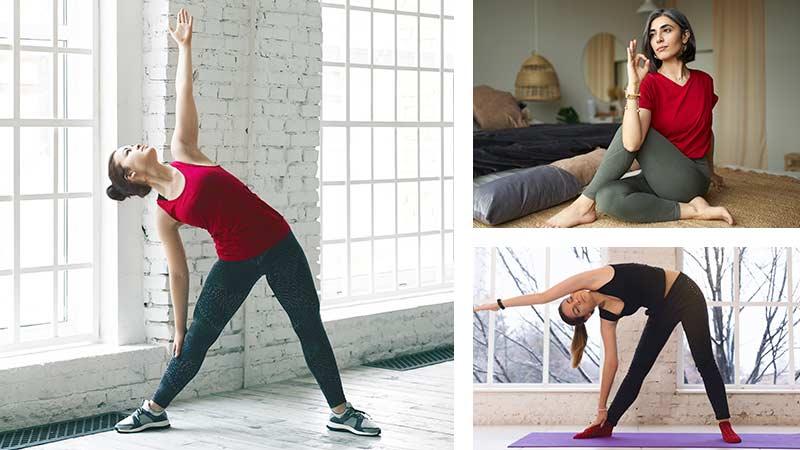 estiramientos de yoga para oblicuos