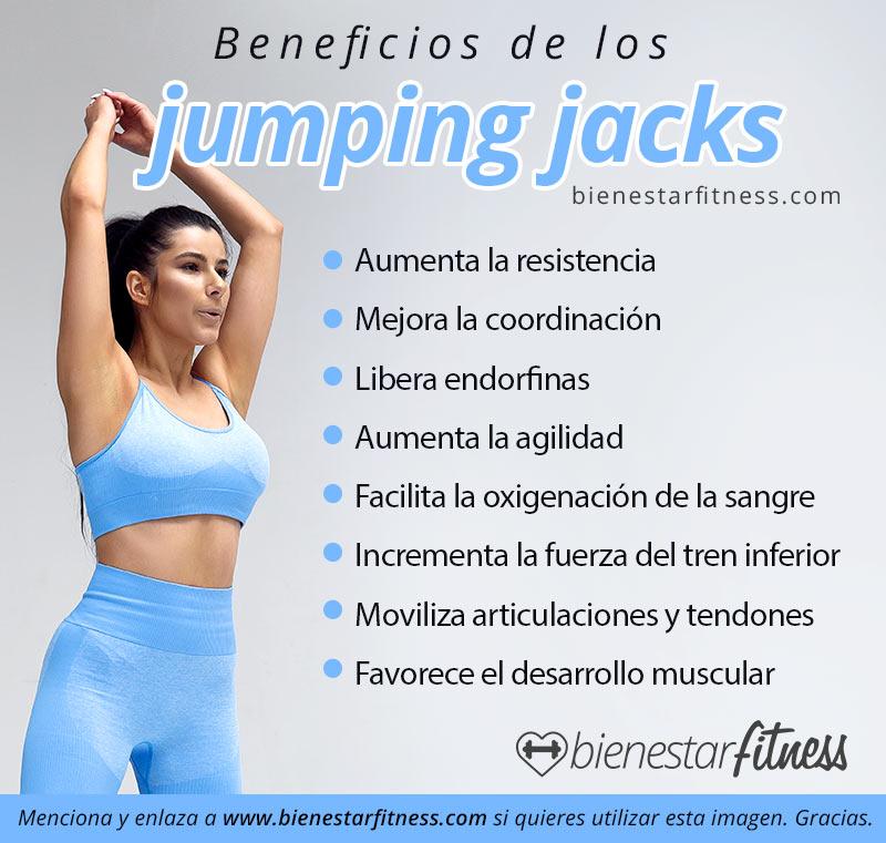 beneficios jumping jacks