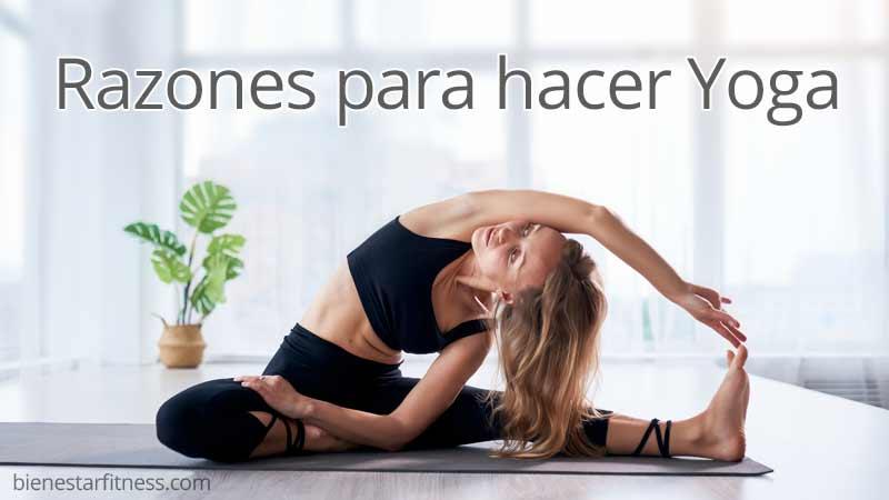 razones para hacer yoga