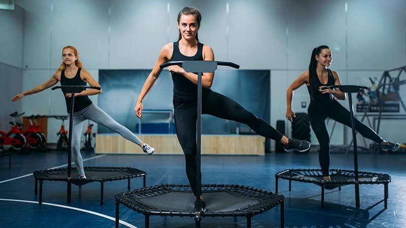 cama elastica fitness