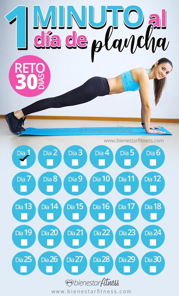 calendario plancha abdominal