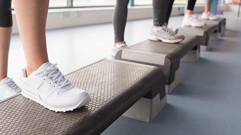 como hacer step