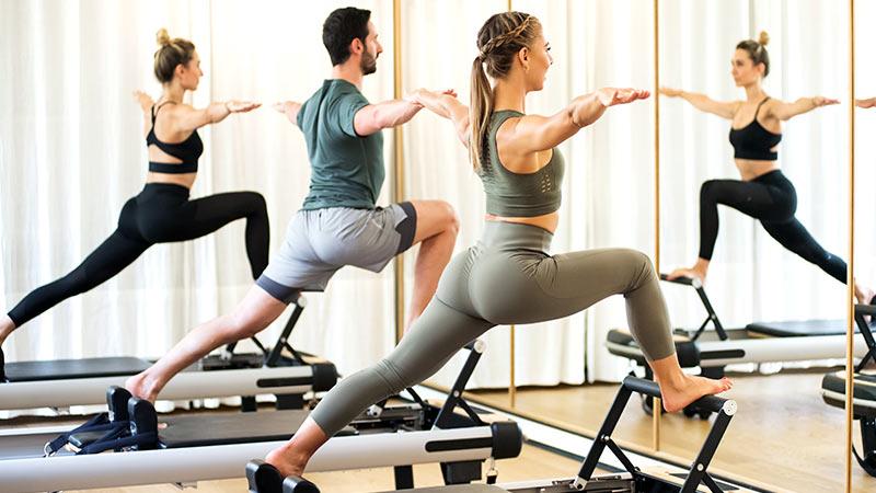 pilates con reformer
