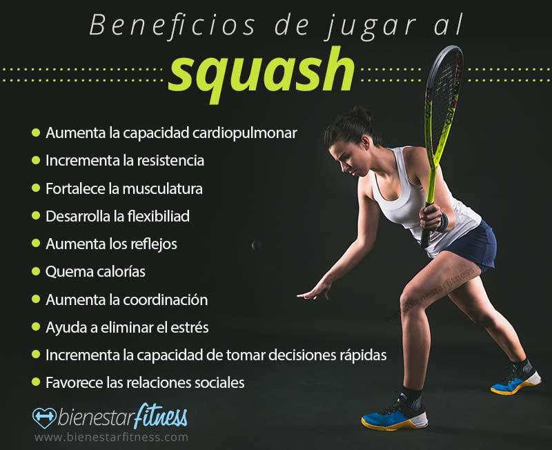 beneficios del squash