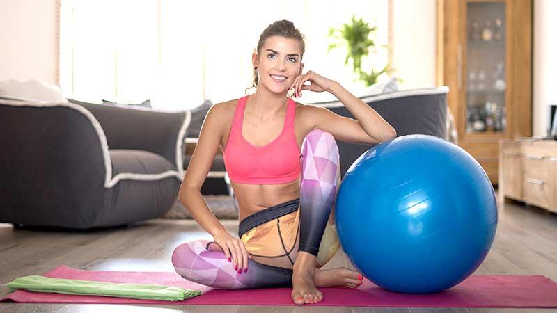 hacer pilates en casa